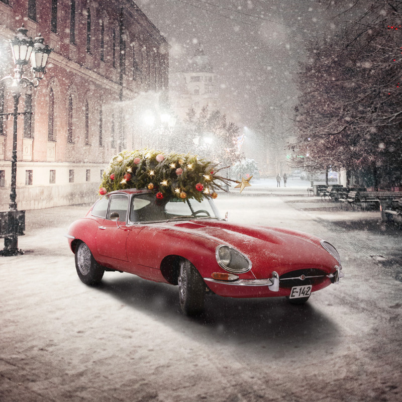 Driving home for Christmas — med stil